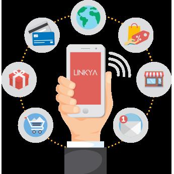 Funcionalidades da App Linkya