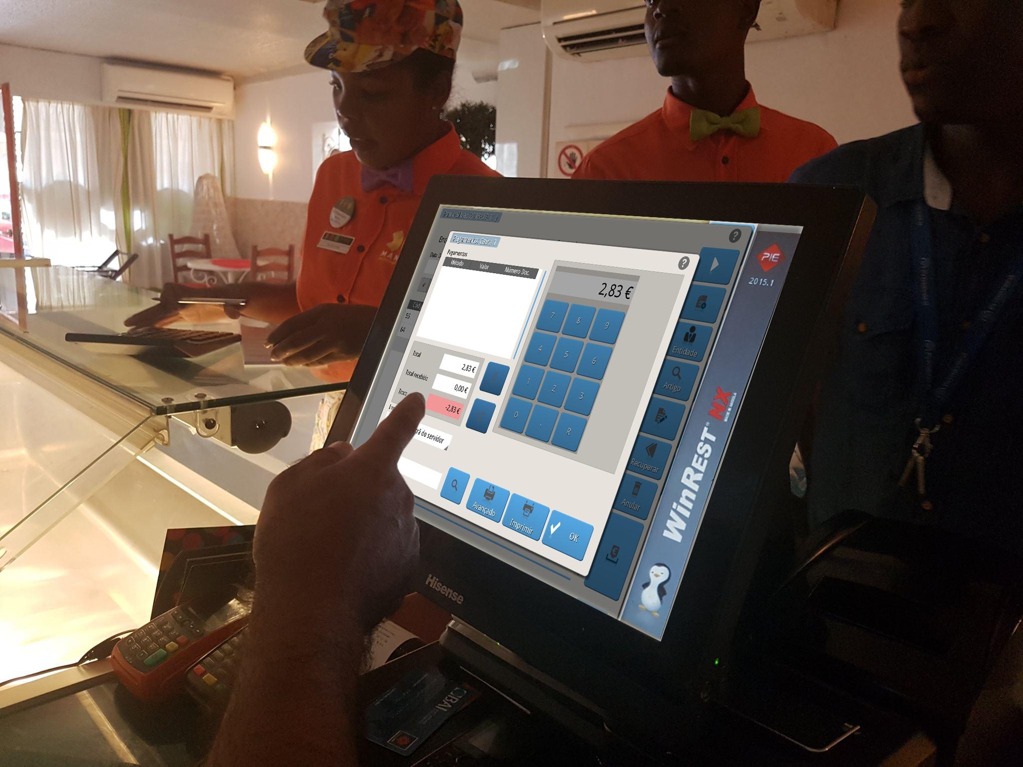WinRest NX Angola - o software de faturação para os restaurantes