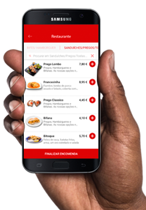 Imagem da App WinRest Booking